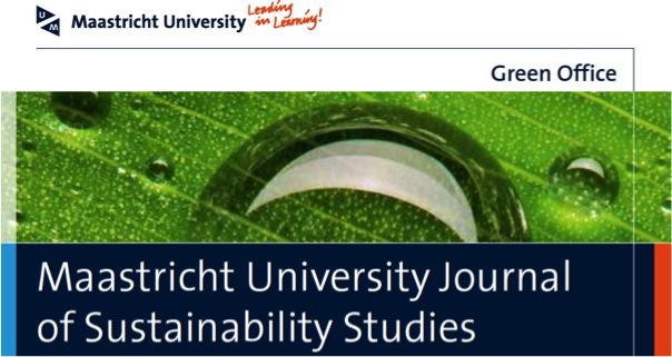 Maastricht University Journal of Sustainability Studies