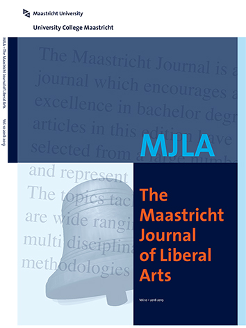 Cover picture of the Maastricht Journal of Liberal Arts