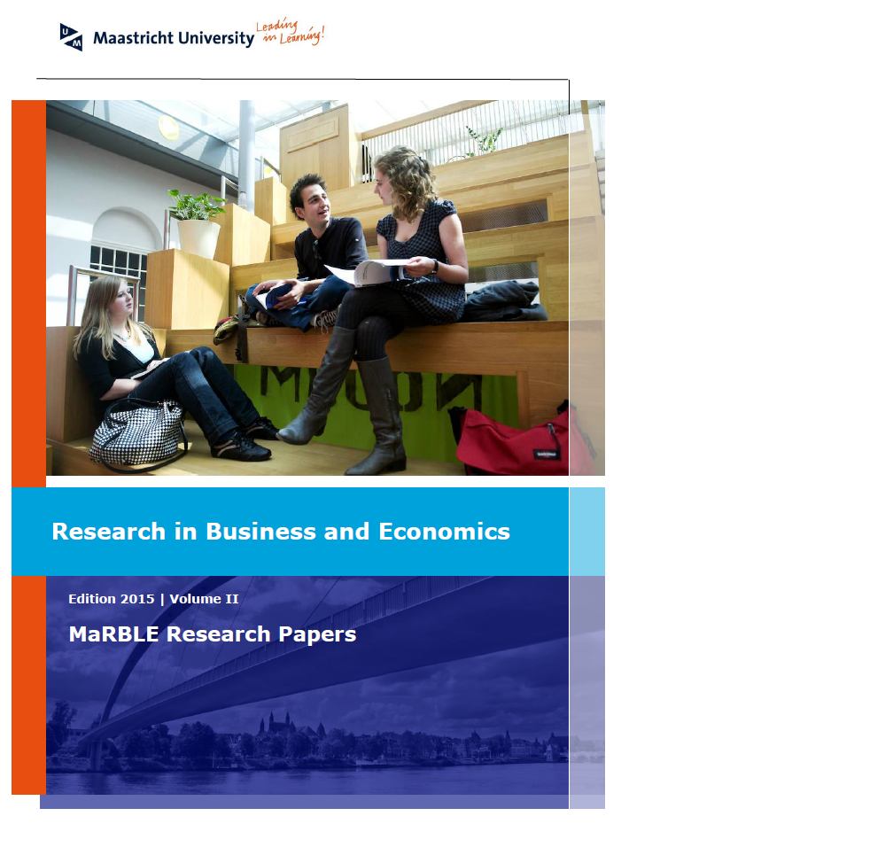 View Vol. 2 (2015): Research in Business and Economics
