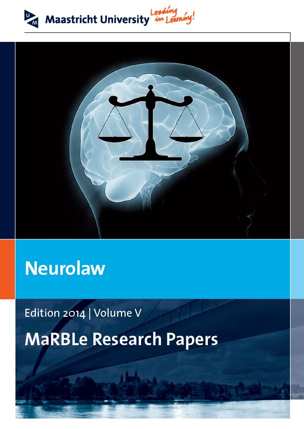 View Vol. 5 (2014): Neurolaw - MaRBLe Research Papers