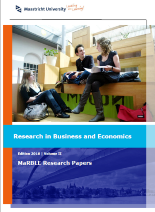 View Vol. 2 (2016): Research in Business and Economics