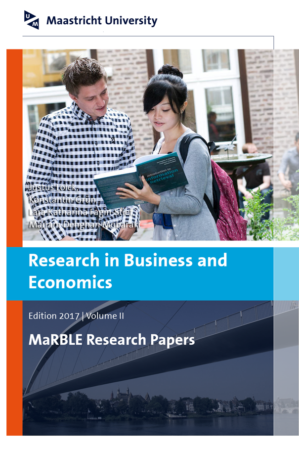 View Vol. 2 (2017): Research in Business and Economics